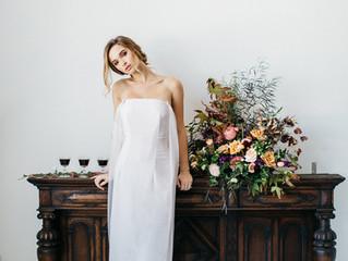 Cape Dress Wedding Inspiration Shoot
