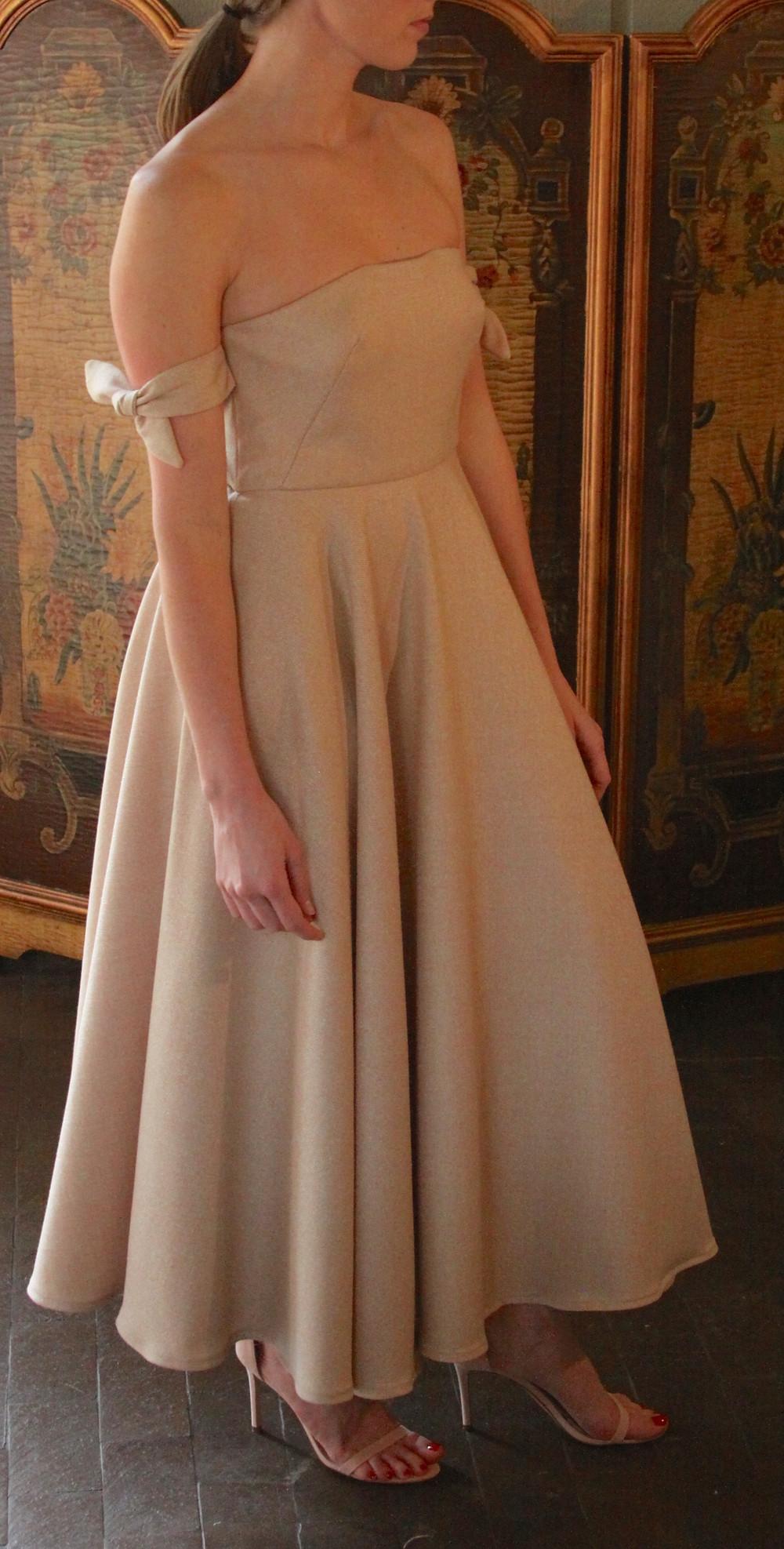 Margaret Collection circle skirt dress
