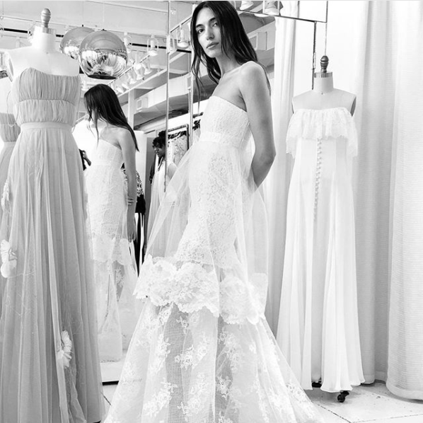 Houghton NYC Bridal Fall 2018 Miranda