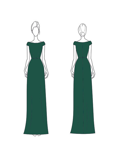 Custom - Lili's Bridesmaid Dress