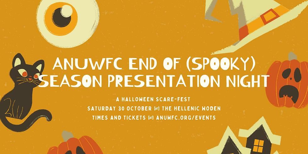 ANU WFC End of (Spooky) Season Presentation Night 2021