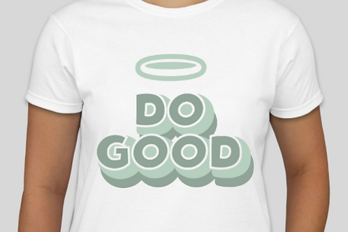 """DO GOOD""  t-shirt"