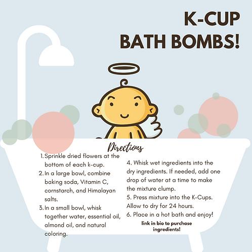 Non-toxic BATH BOMB KIT!