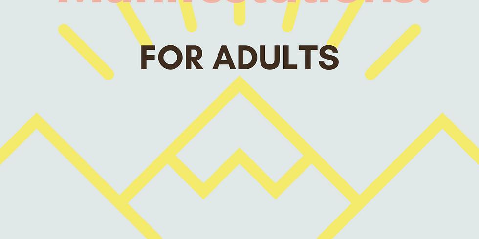 Vision boards & Manifestation for ADULTS