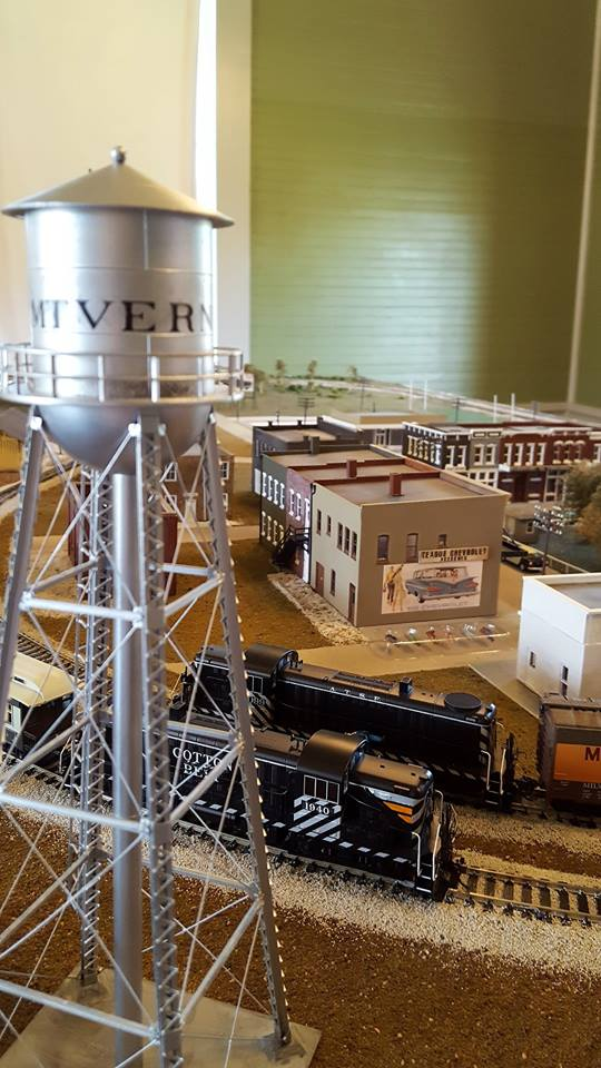 Depot Model Train Exhibit