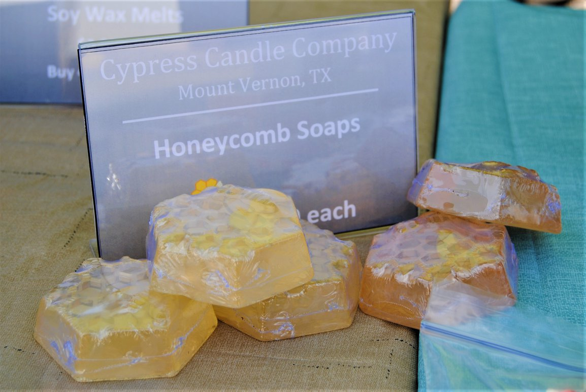 Cypress Candle Co Honeycomb Soap