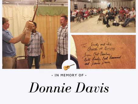 Donnie Davis Memorial Fund: