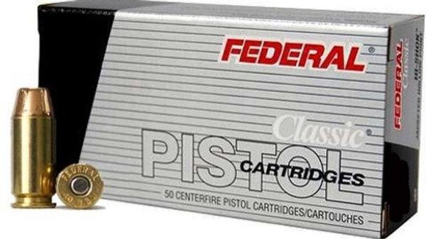 Federal 40 S&W 180 Gr Hi-Shok JHP