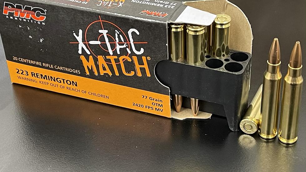 Match Grade PMC X-Tac 77 grain .223