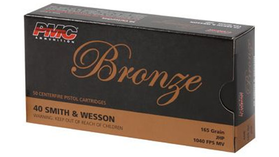 PMC Bronze .40 S&W - Jacketed Hollow Point