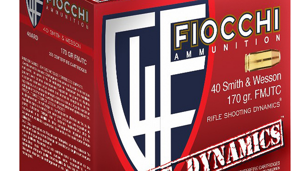 Fiocchi 40 S&W 170 gr 200 box