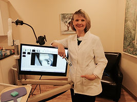 Yvonne Schalm, Advanced Dental Health's dental hygienist