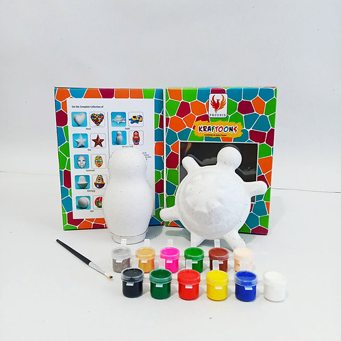Nesting Doll & Turtle - Combo Pack