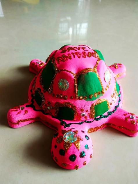Glitter Turtle