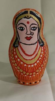 Traditional Girl_Nesting Doll