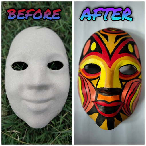 Decorative Face Mask
