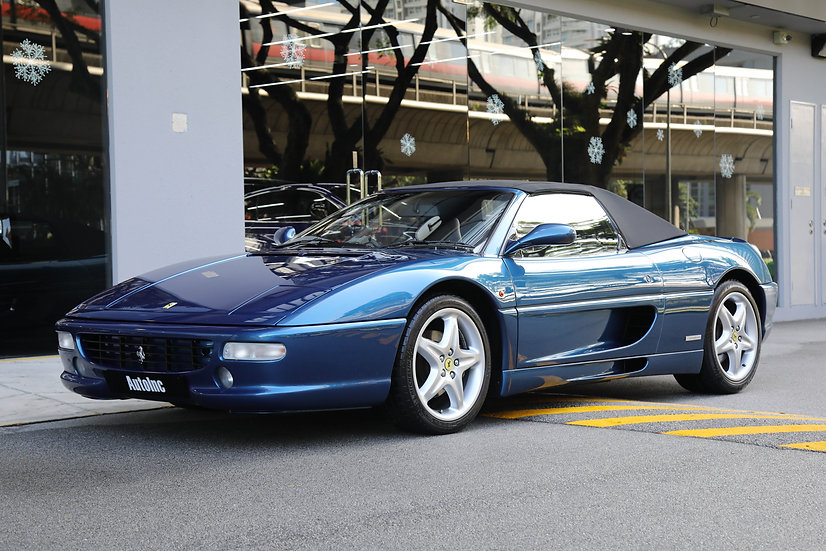 1996 Feb Ferrari F355 Spider