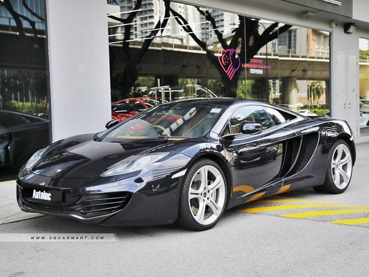 2012 Sep McLaren 12C