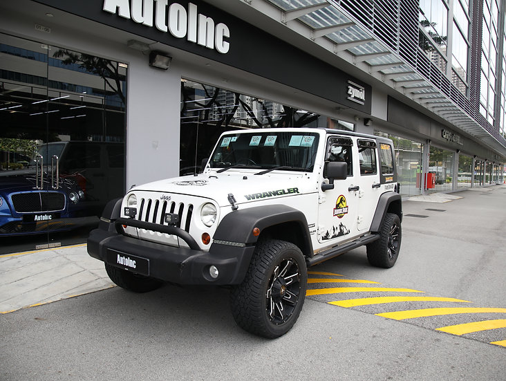 2010 Aug Jeep Wrangler Unlimited (New 10-Year COE)