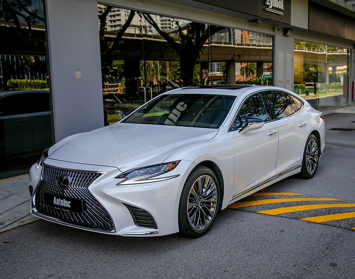 2018 Apr Lexus LS500 Luxury MR