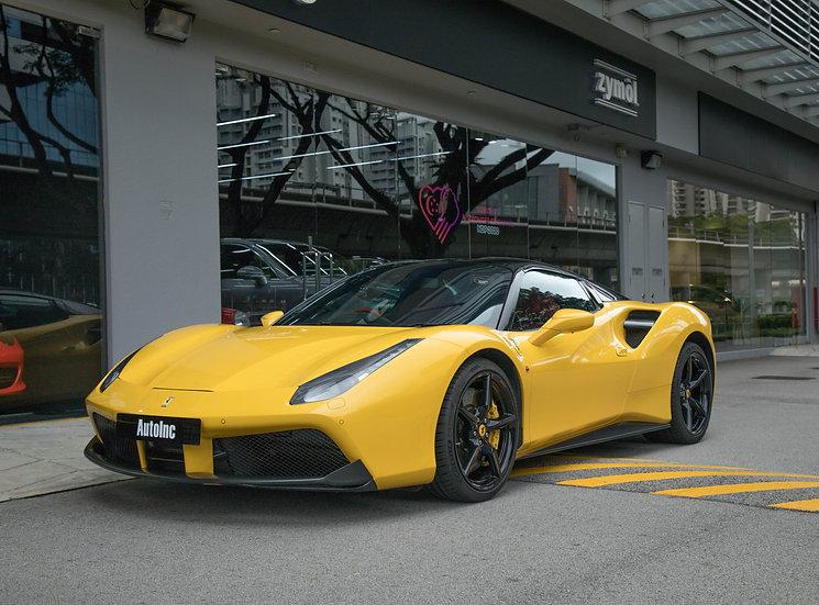 2017 Aug Ferrari 488 Spider