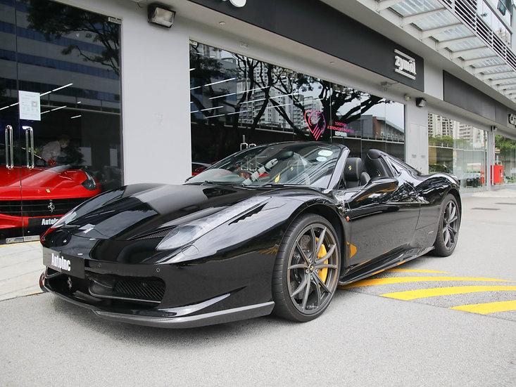 2012 Nov Ferrari 458 Spider