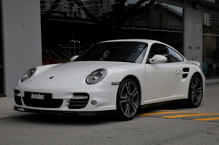 2010 Mar Porsche 911 Turbo Coupe PDK (COE till 04/2029)