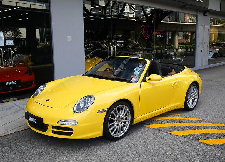 2007 Jun Porsche 911 C4S Cabriolet Tip
