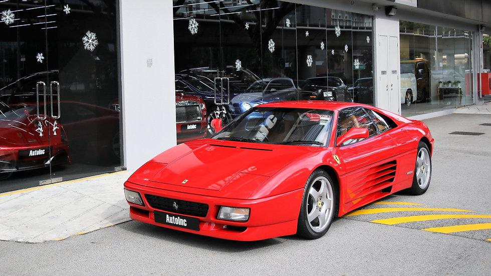 1990 Oct Ferrari 348 TS