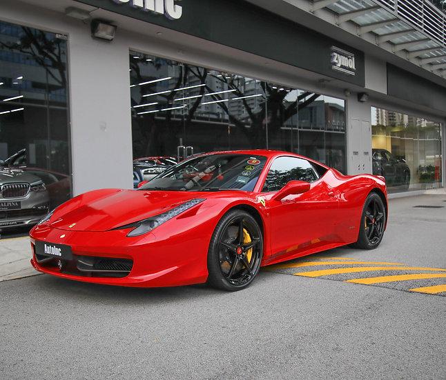 2013 May Ferrari 458 Italia