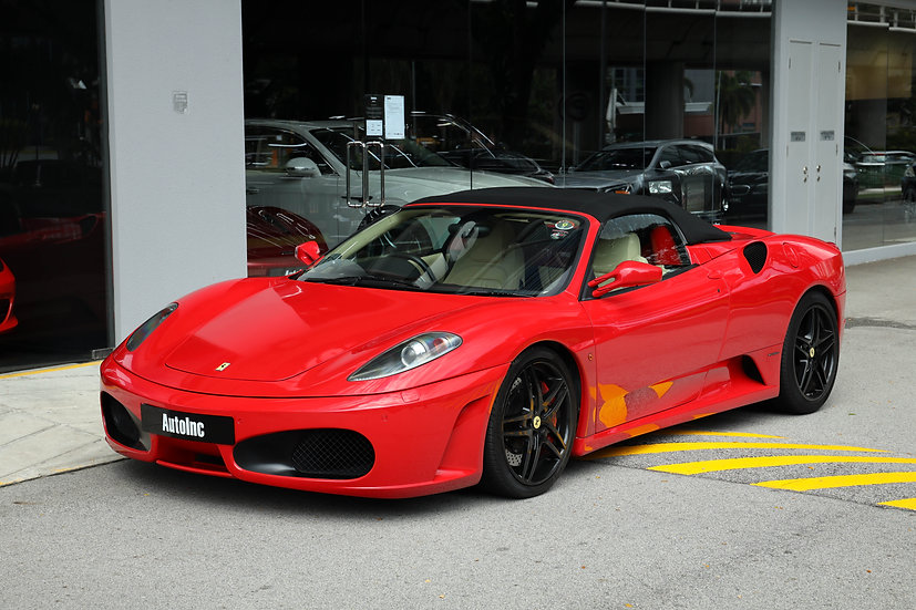 2007 Apr Ferrari F430 F1 Spider
