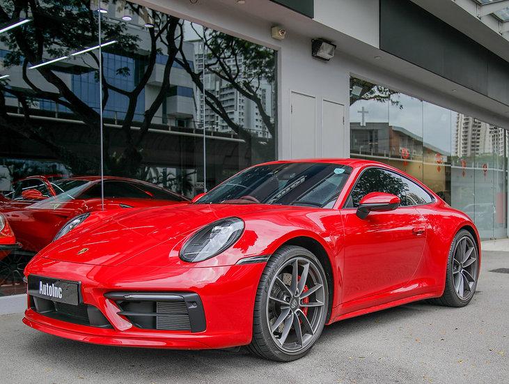 2020 Jun Porsche 911 Carrera S Coupe