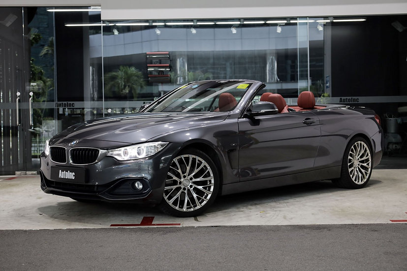 2014 Aug BMW 4 Series 428i Convertible Luxury