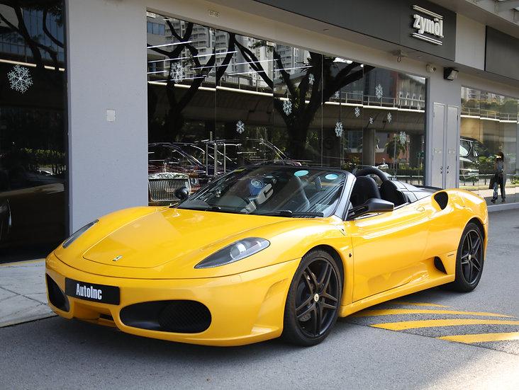 2008 Mar Ferrari F430 Spider (COE till Mar 2028)