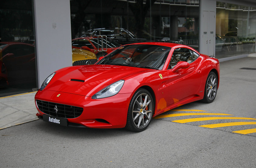 2012 Mar Ferrari California 4.3L