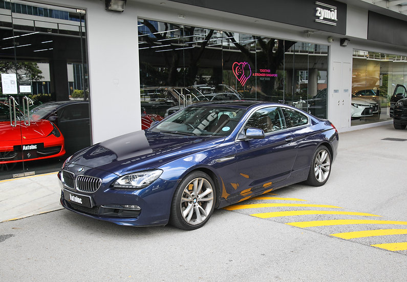 2012 May BMW 6 Series 640i Coupe Sunroof
