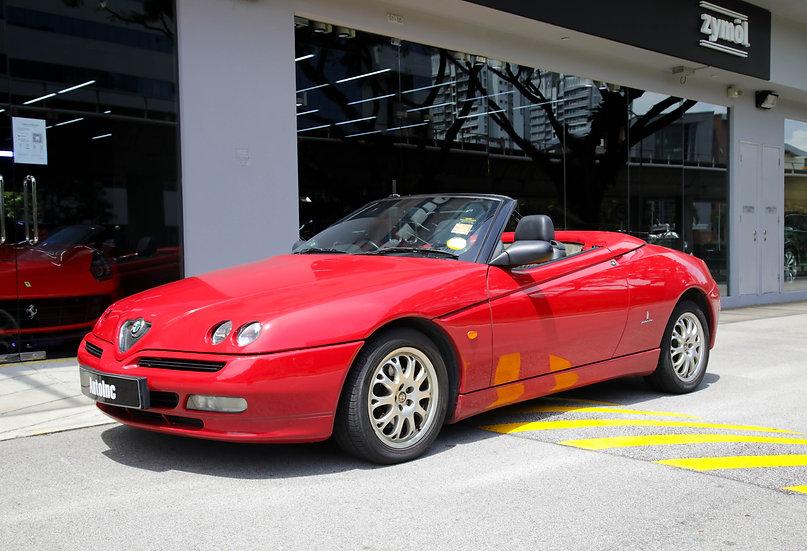 2002 Oct Alfa Romeo Spider