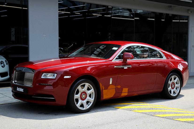 2015 May Rolls Royce Wraith