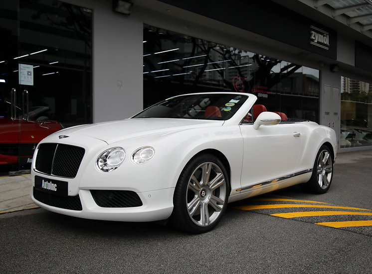 2013 Jan Bentley Continental GT Convertible