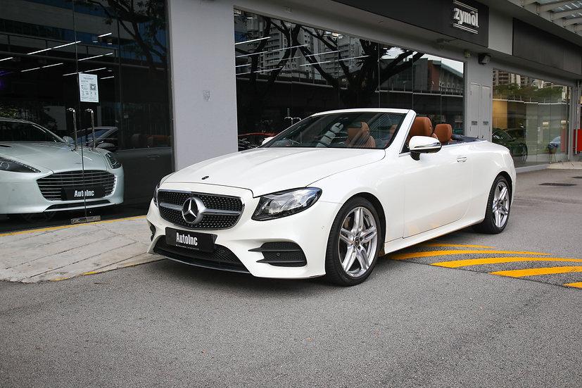 Mercedes-Benz E-Class E300 Cabriolet AMG Premium