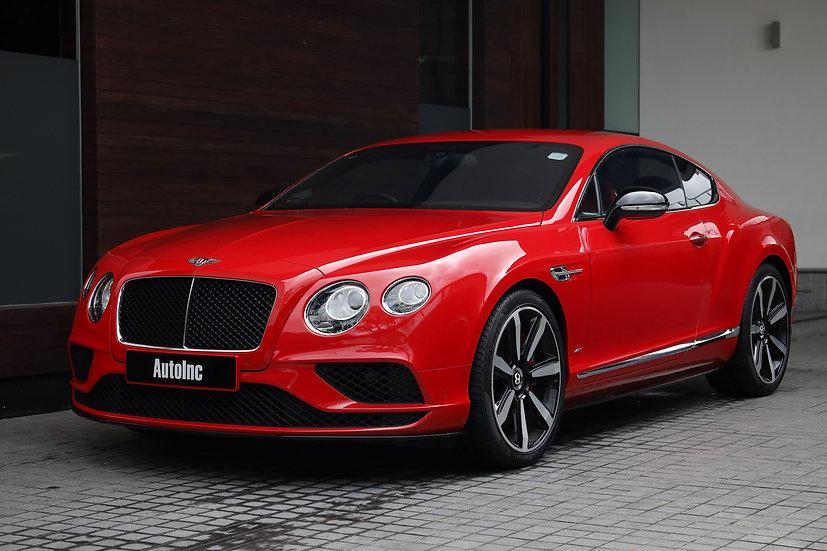 2016 Mar Bentley Continental GT V8S