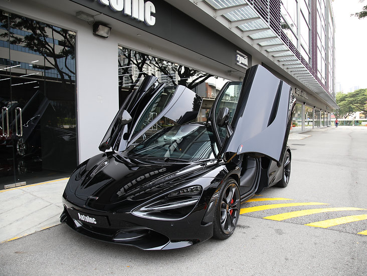 2018 Jul McLaren 720S Coupe