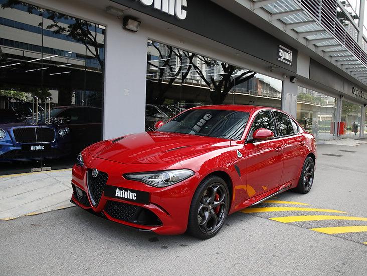 2018 May Alfa Romeo Giulia Quadrifoglio