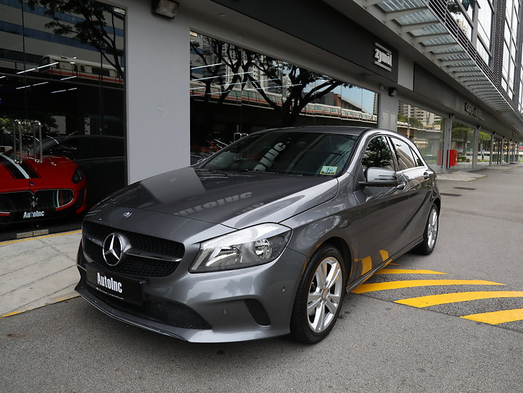 2016 Apr Mercedes-Benz A180