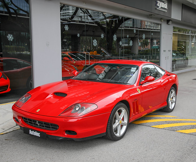 2004 Aug Ferrari 575M F1