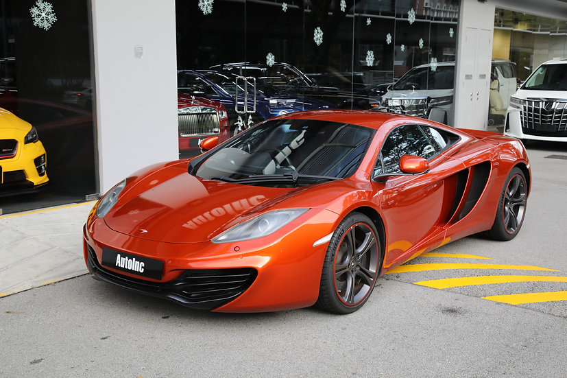 2012 Aug McLaren MP4-12C Coupe