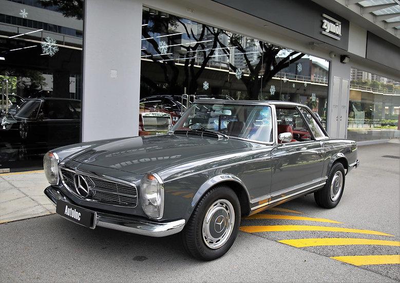 1965 Aug Mercedes Benz 230 SL Pagoda