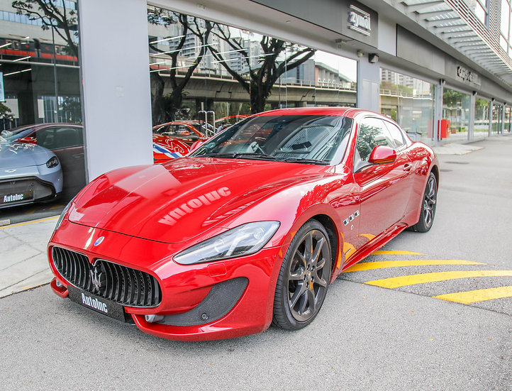 2013 Jun Maserati GranTurismo Sport