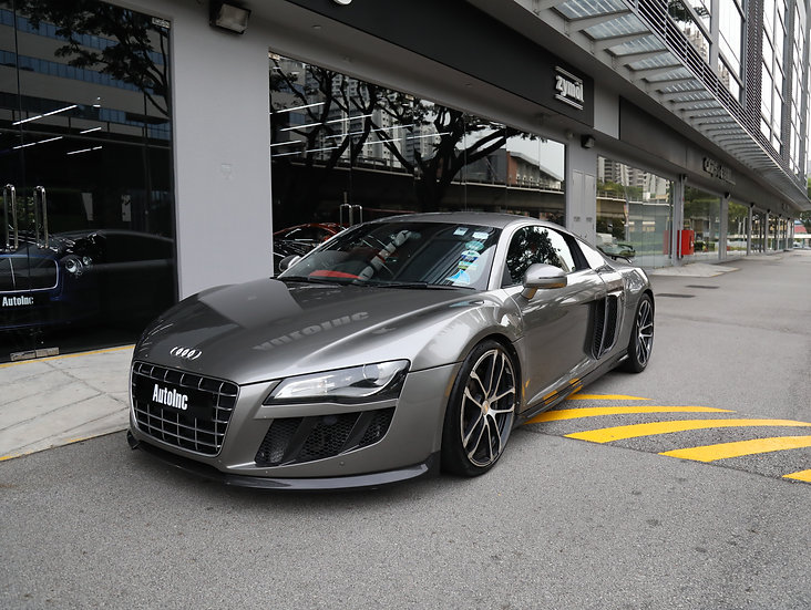 2008 Mar Audi R8 R-Tronic (NEW 10-YEAR COE)
