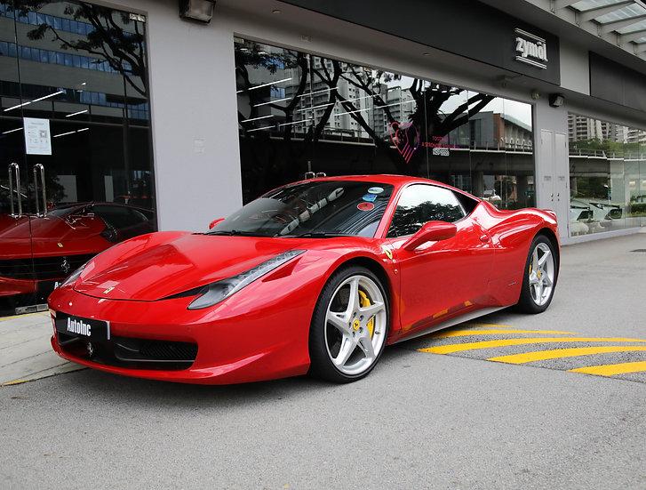 2010 Nov Ferrari 458 Italia